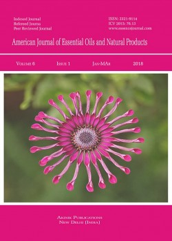 American Journal of Essential Oil and Natural Products
