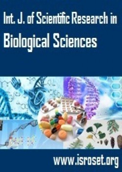 International Journal of Scientific Research in Biological Sciences