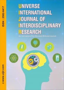 Universe International Journal of Interdisciplinary Research (UIJIR)