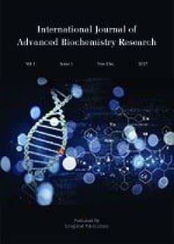 International Journal of Advanced Biochemistry Research