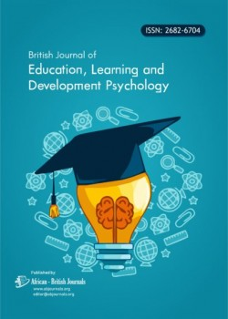 British Journal of Education, Learning and Development Psychology