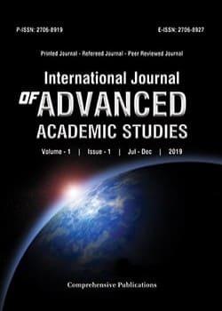 International Journal of Advanced Academic Studies