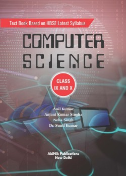 Text Book Based on HBSE Latest Syllabus Computer Science Class IX and X
