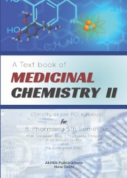 A Text book of Medicinal Chemistry II (Strictly as per PCI Syllabus) for B. Pharmacy 5th Semester