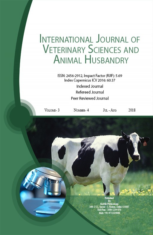 International Journal of Veterinary Sciences and Animal Husbandry