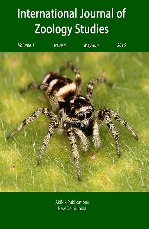 International Journal of Zoology Studies