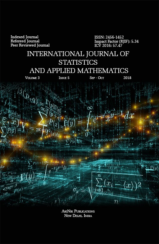 International Journal of Statistics and Applied Mathematics
