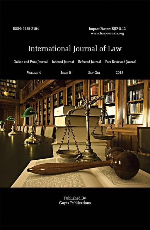 International Journal of Law