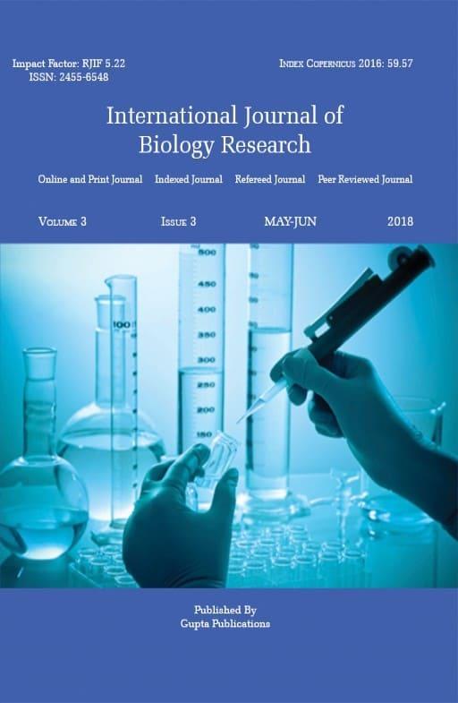 International Journal of Biology Research