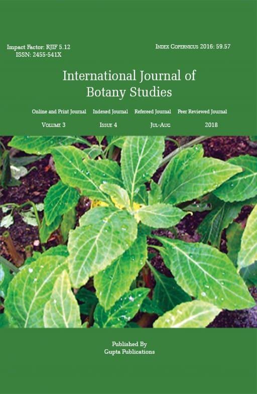 International Journal of Botany Studies