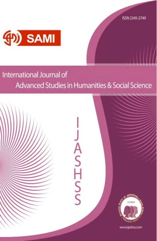 International Journal of Advanced Studies in Humanities and Social Science