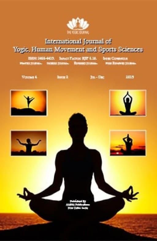 International Journal of Yogic, Human Movement and Sports Sciences