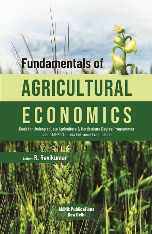Fundamentals of Agricultural Economics