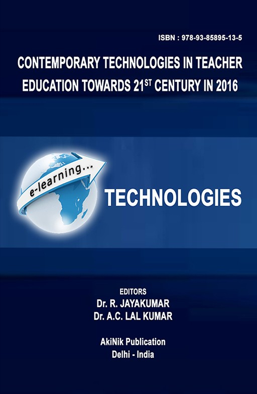 Contemporary Technologies in Teacher Education towards 21st Century in 2016