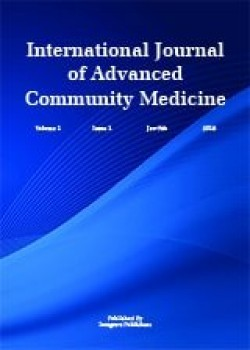International Journal of Advanced Community Medicine