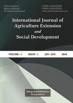 International Journal of Agriculture Extension and Social Development