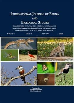 International Journal of Fauna and Biological Studies